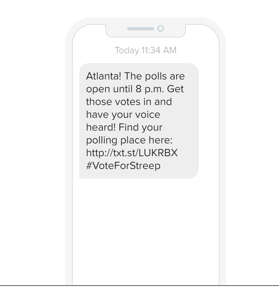 sms for political campaign