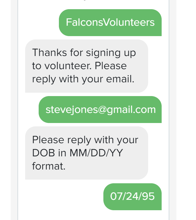 sms for sport teams